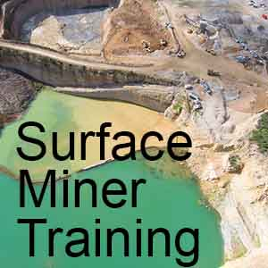 Enroll in the New Surface Miner Training Course for Online learning