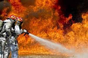 Chemical Fire Triggers EPA Alert